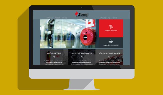 Nouveau site internet SERMI Incendie